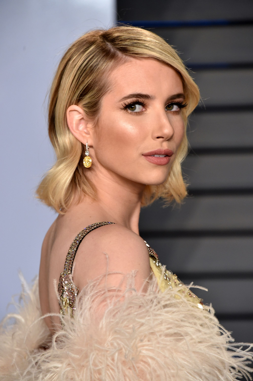 March 04 2018 Vanity Fair Oscar Party Ero023 Emma Roberts Online Photo Gallery Emma Roberts Photos